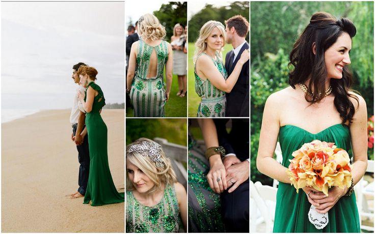 emerald wedding | emerald wedding dresses