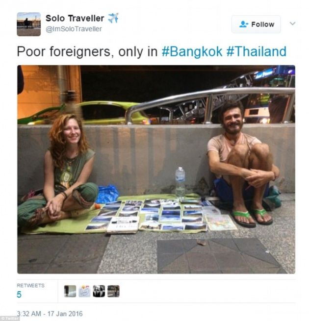 """Rise of """"beg-packers"""" funding their trips around the world"""