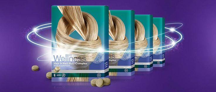 Здоровые волосы и крепкие ногти - Нутрикомплекс для волос и ногтей