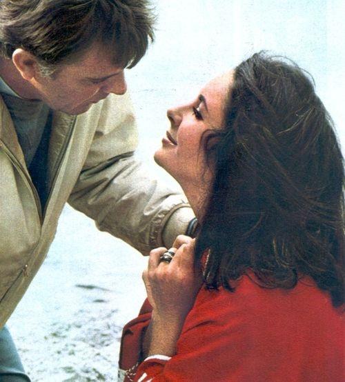 """With Richard Burton, I was living my own fabulous, passionate fantasy."" — Elizabeth Taylor"
