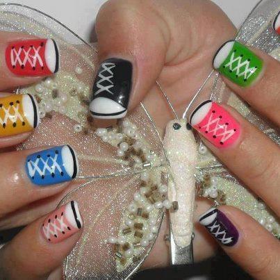 fingernails...