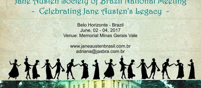 Circuito Cultural Praça da Liberdade   VI Encontro Nacional da Jane Austen Sociedade do Brasil
