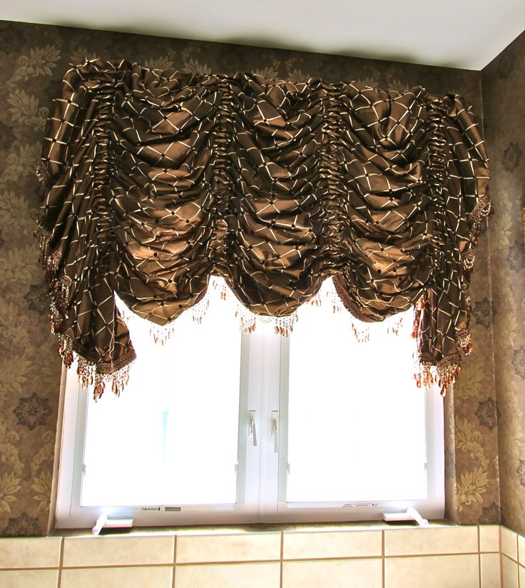 Balloon Shade Curtains Are Key Element Of Style : Balloon Shade Curtain  Patterns. More Window Treatments Ideas