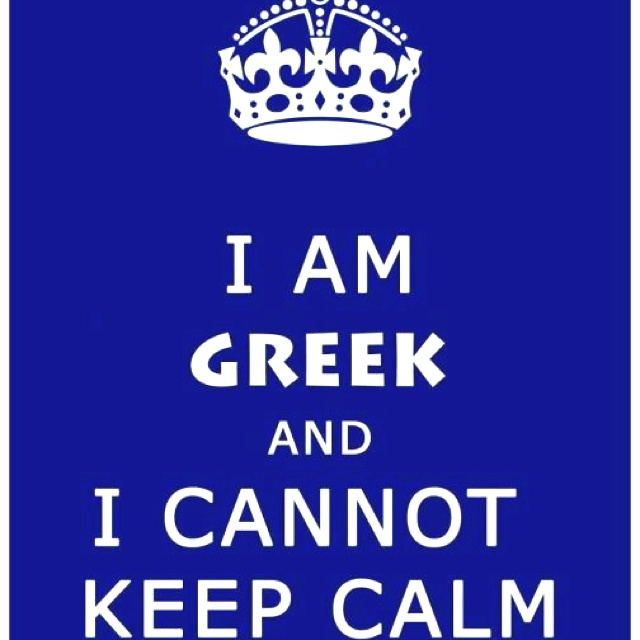 .LOL There is a difference between a Greek simply speaking and a pissed off Greek. It may look the same but it really isnt ;)
