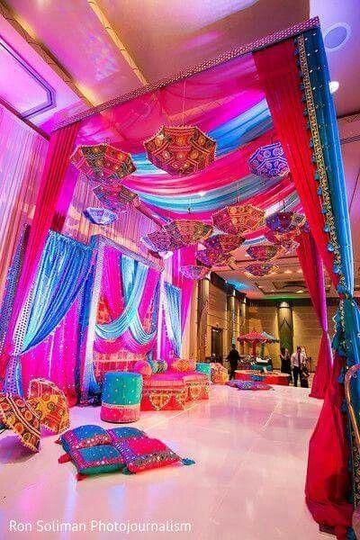 Wedding Lounge ~ Indian styling
