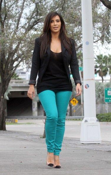 Kim Kardashian Casual Style 2013