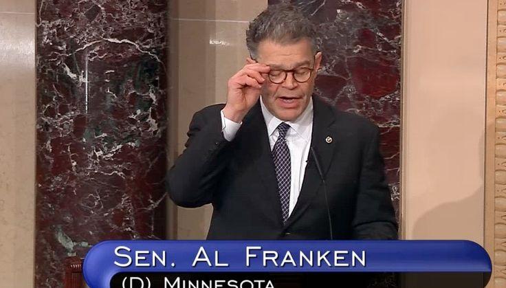 Al Franken Drops a Truth Bomb On The Senate: Citizens United Is Money Laundering  via PoliticusUSA
