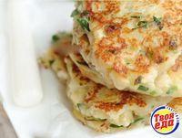Картофельные оладьи с сыром - Кулинарные рецепты