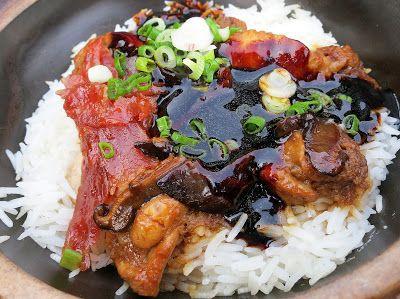 怡保砂煲鸡饭 Ipoh Claypot Chicken Rice at Restoran 777 in Taman Ungku Tun Aminah, Johor Bahru, Malaysia