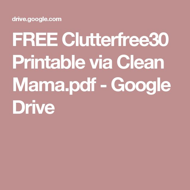 how to clean my google drive
