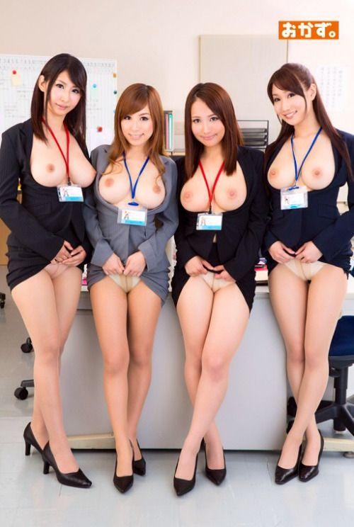 Asian team nude