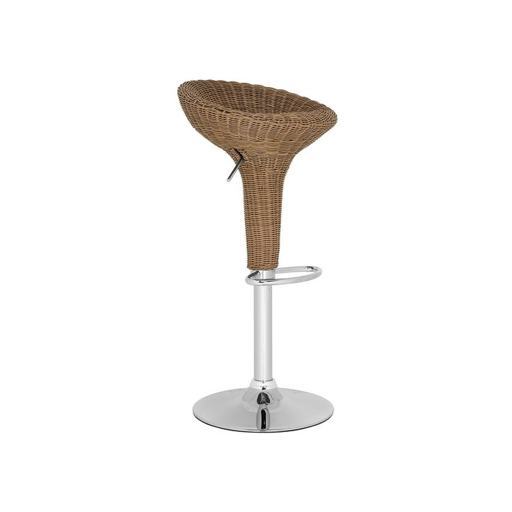 Elegant Safavieh Monicka Adjustable Bar Stool, Black