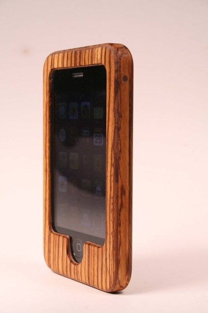 beautiful case....: zebrawood  I so desire one of these!