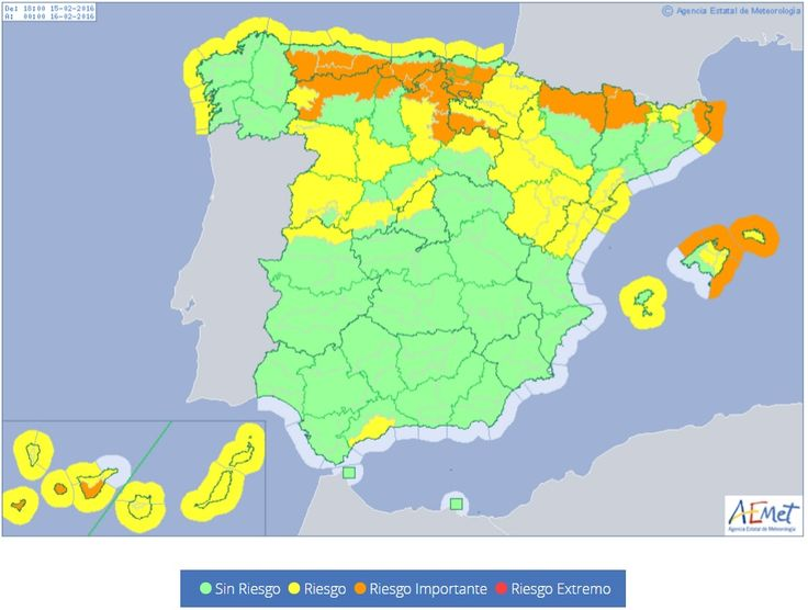 Extreme weather causing one death over weekend leaves Malaga on yellow alert