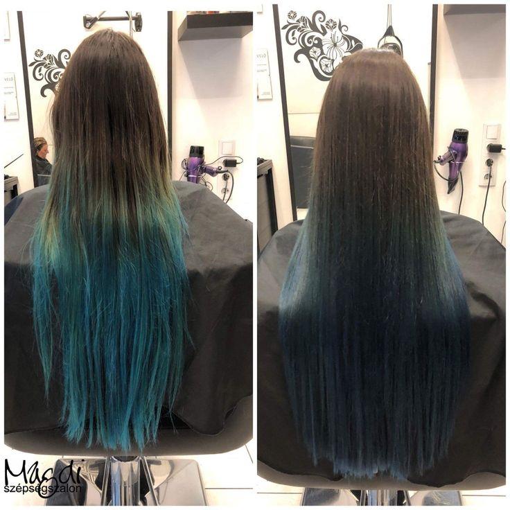 Milyen hajjal búcsuztatnád az új évet? Egy kék ombre, hogy tetszene a szilveszteri bulira? :)  www.magdiszepsegszalon.hu  #balayageombre #ombrehair #blueombrehair #kékhaj #klékombre #bluehair #ombrehaj #hair #hairfasion #haj #festetthaj #coloredhair #széphaj #szépségszalon #beautysalon #fodrász #hairdresser #ilovemyhair #ilovemyjob❤️ #hairporn #haircare #hairclip #hairstyle #hairbrained #haircut #hairsalon #hairpro #hairup #hairdye #hairstylist #haircuts #hairoftheday #hairgoals #hairideas…