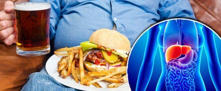 مرض السكرى زيادة الوزن بشكل م فرط إرتفاع نسبة الدهون الثلاثية الغذاء غير المتوازن و تناول Fatty Liver Disease Diet Liver Disease Diet Fatty Liver Treatment