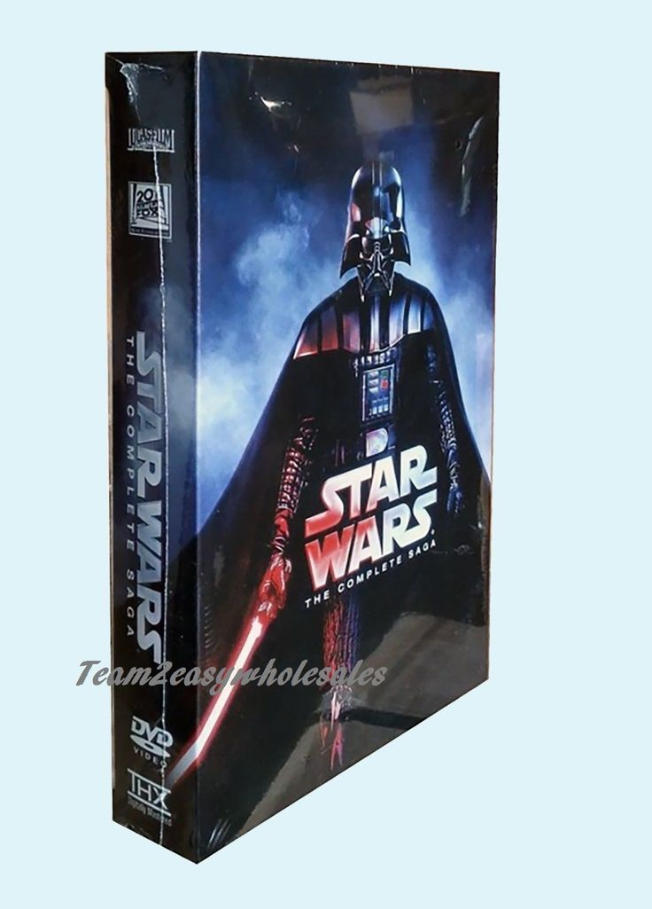 Star Wars 6 Dvd Box Set