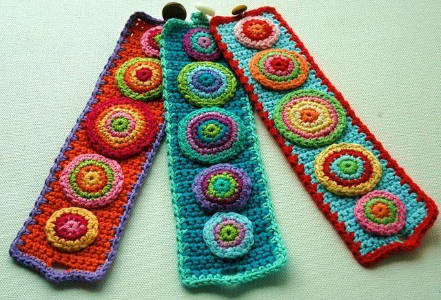 Amazing+crochet | Crochet Cuffs - amazing! | crochet jewelry