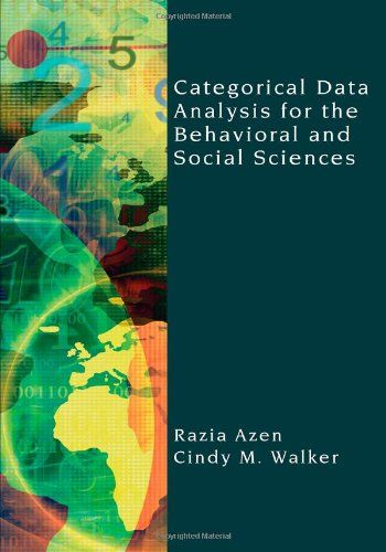 I'm selling Categorical Data Analysis for the Behavioral and Social Sciences by Razia Azen and Cindy M. Walker - $25.00 #onselz