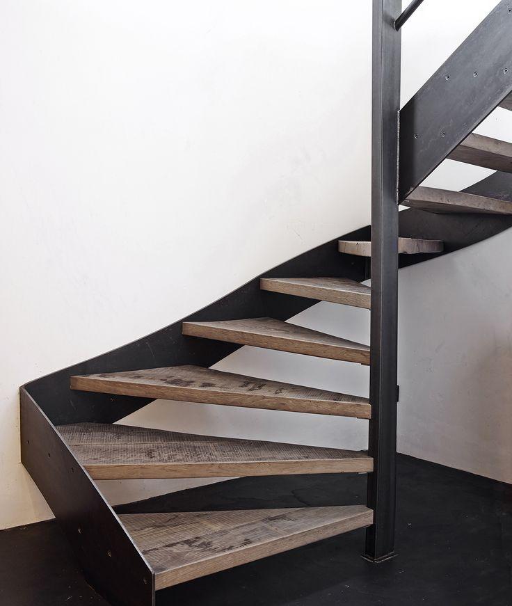 ''Loft'' stair by Dirk Cousaert Design