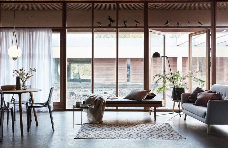 Hanglamp - glas en metaal - Weiß - brons - E27 - 60W - Hubsch kaufen? - Lilianshouse.de - Wohn- und Lifestylewebshop