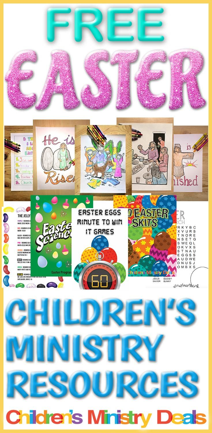 Easter Children S Ministry Resources Best Ideas Pinterest Activities And Sunday School