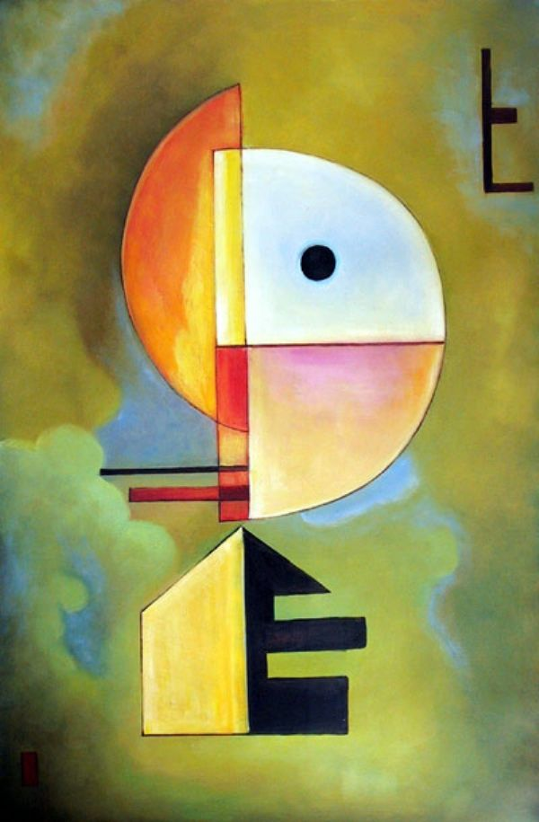 Wassily Kandinsky, Russian Painter For handmade greeting cards visit me at My Personal blog: http://stampingwithbibiana.blogspot.com/