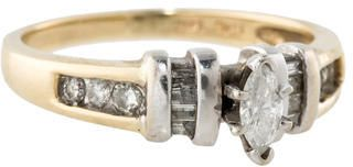 Marquis Diamond Gold Ring on shopstyle.com