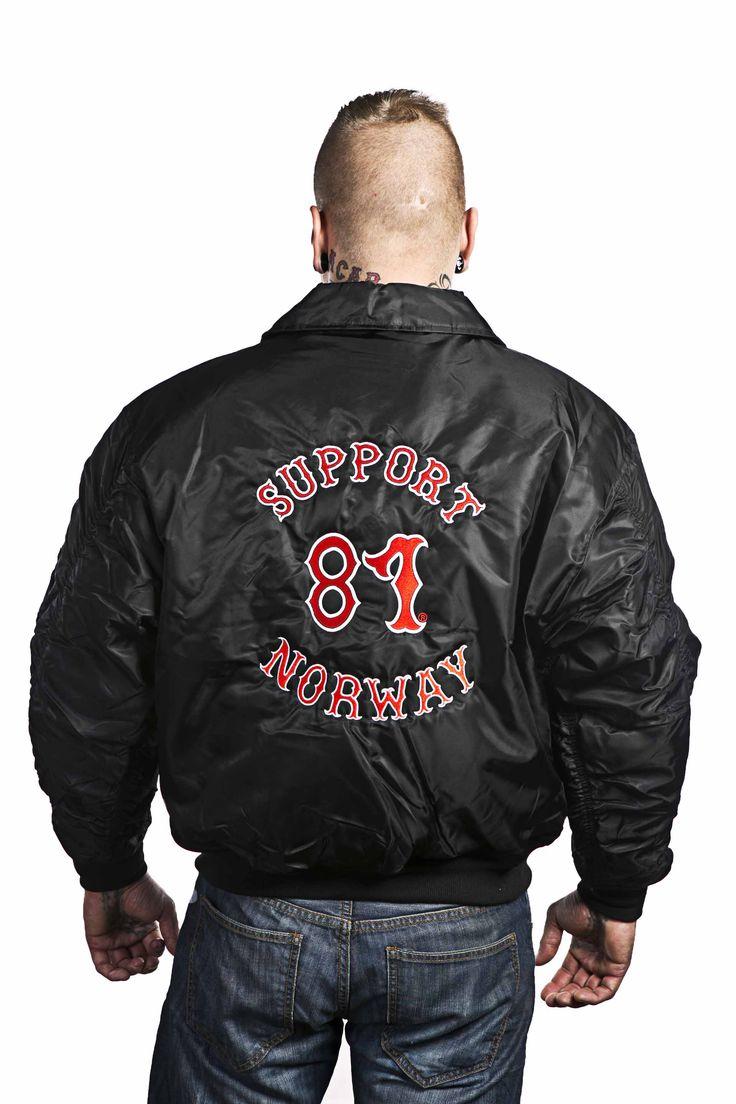 Support 81 Norway jakke www.81wear.no | support 81 | Mens ...