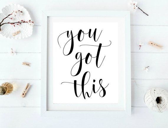 You got this Cubicle printable Office cubicle art Cubicle