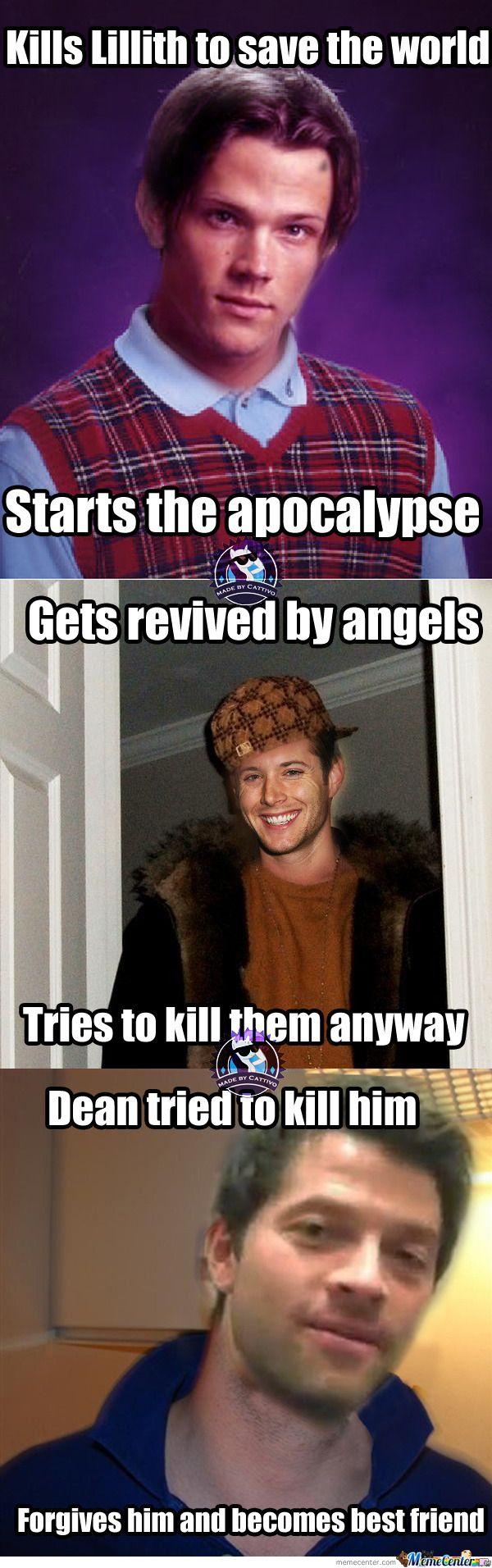supernatural meme