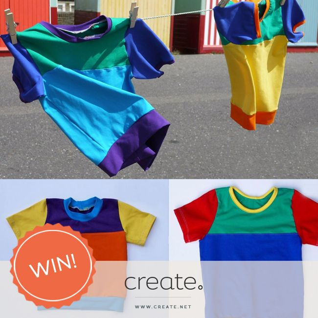 #WIN a unique, handmade and super colourful children's top from online store http://www.brightncomfy.co.uk with #FreebieFriday! Enter on the Create Facebook page. facebook.com/create
