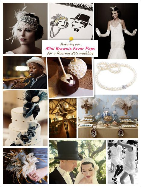 A Roaring '20s Wedding Theme from Beau-coup | Wedding Paper Divas Blog