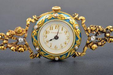 Secese Tiffany & Co. dámské hodinky