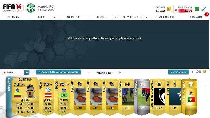 FIFA 14   FIFA 14 PACK OPENING ITA   FIFA 14 UT APERTURA PACCHETTI w/ Fe...