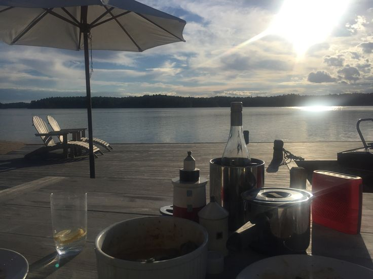 Dinner at the jetty