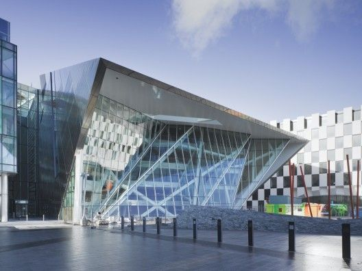 Grand Canal Theatre by Daniel Libeskind - Dublin, Ireland