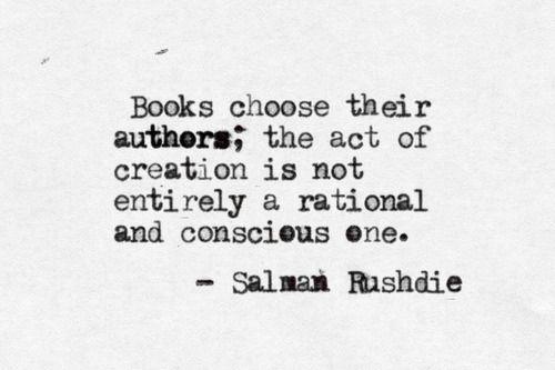 The Virtual Typewriter - Salman Rushdie