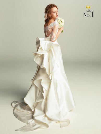 ハツコ エンドウ ウェディングス(Hatsuko Endo Weddings) 360度どの角度から見てもパーフェクトなデザインで圧倒的人気