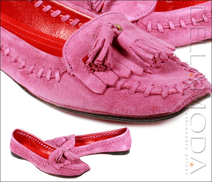Designer women shoes by Cesare Paciotti Shoes Pink Flats CPW384