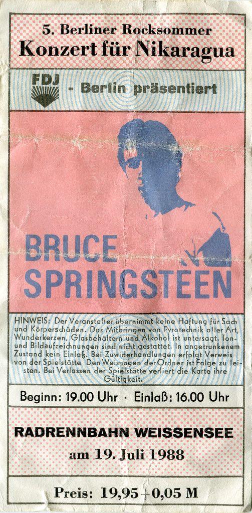 FDJ Berlin presents Bruce Springsteen at velodrome Weißensee