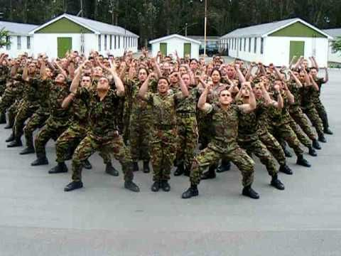 LSV march out Haka - 22 November 2008. Haka done by the trainees of the LSV Company (Limited Service Volunteer Comp) . This Haka was part of their march out parade. The course is held in Burnham Military Camp which is in Christchurch, New Zealand. To get on this course just visit a case worker at WINZ.