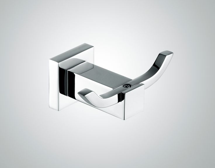 Modena Double Robe Hook - ABL Tile Centre