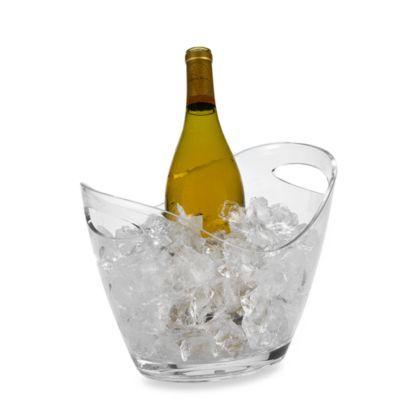 Prodyne Acrylic Vino Gondola Wine Bucket - BedBathandBeyond.com