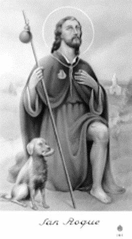 Historia del Santo 'San Roque' :: CERROCOFRADE