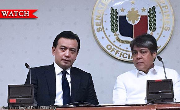 Senator Antonio Trillanes IV: President Rodrigo Duterte aabusuhin ang martial law