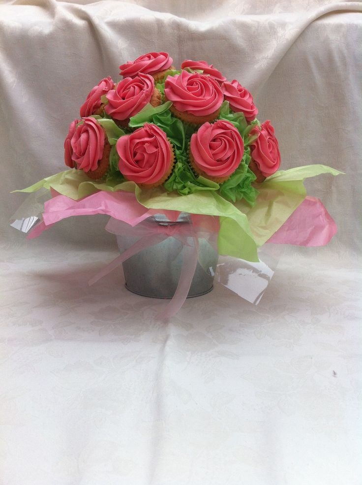 Mothers Day cupcake bouquet