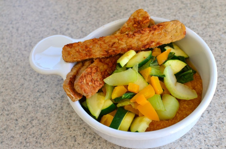 Pumpkin polenta with sauteed veggies | Cooking By Color: Orange | Pin ...