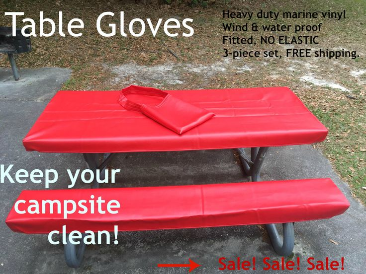Select colors on sale! We know this is the best picnic table cover money can buy!