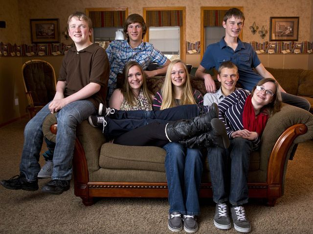 McCaughey septuplets turning 18 - story and 85 photos of the family over the years via The Des Moines Register